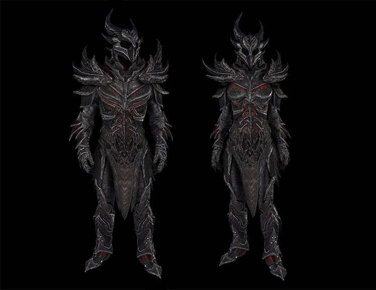 Daedric Armor from The Elder Scrolls V: Skyrim